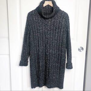 Banana Republic Heritage Chunky Knit Sweater Dress